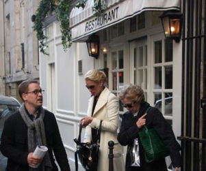 Katherine Heigl, T.R. Knight in Paris