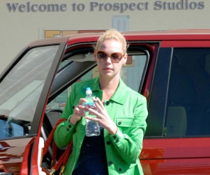 Another Day at the Office For Katherine Heigl