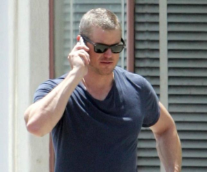 Eric Dane Misplaces Hair