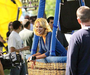 Up, Up, and Away For Katherine Heigl