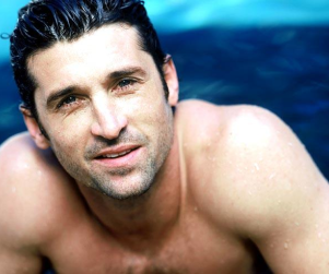 Patrick Dempsey. Shirtless.