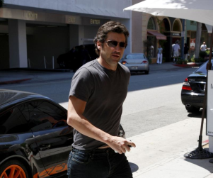 Patrick Dempsey Ready to Chow Down