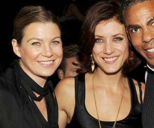 Ellen Pompeo and Kate Walsh in Las Vegas
