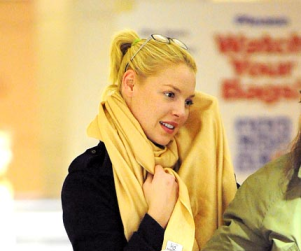 Katherine Heigl Hits Up Baggage Claim