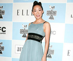 Sandra Oh on Independent Spirit Awards Red Carpet