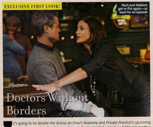 Grey's Anatomy, Private Practice Spoilers: Addison's Back; MerDer Engaged?