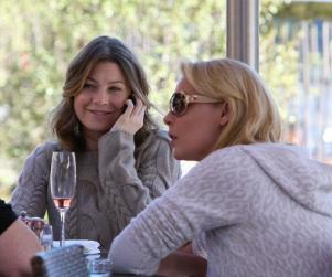 Ellen Pompeo and Katherine Heigl Do Lunch
