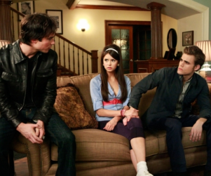 Vampire Diaries Cast Comments on Love Triangle