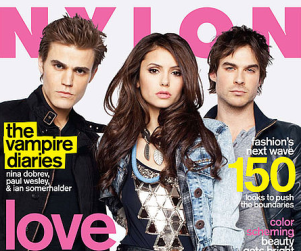 Vampire Diaries Stars Pose for Nylon, Speak on the Show