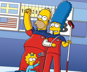 "The Simpsons Review: ""Boy Meets Curl"""