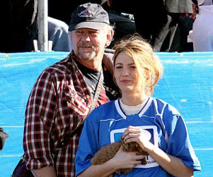 Blake Lively at the Super (Beach) Bowl