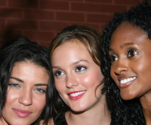 Three Gossip Girls in the House!