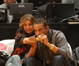 Lakers Love For Ellen Pompeo, Chris Ivery