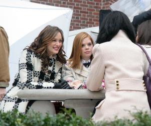 Trio of Gossip Girl Stars Filming in Manhattan