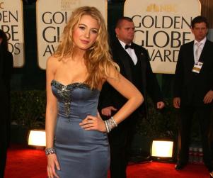 Blake Lively: Golden Globe Gorgeous