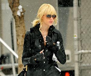 Taylor Momsen: Snowstorm Chic