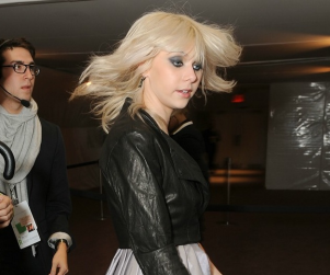 Taylor Momsen Attends Fashion Week Show