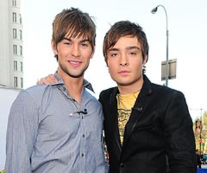 Ed Westwick Jokingly Disses Chace Crawford
