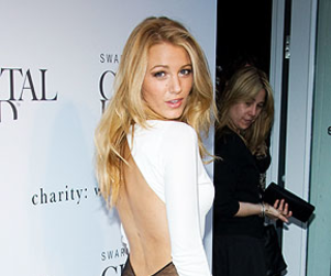 Blake Lively Looks Stunning in White