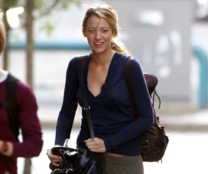 Blake Lively is Back in Boston