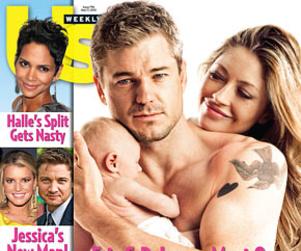 Eric Dane, Rebecca Gayheart Debut Daughter!