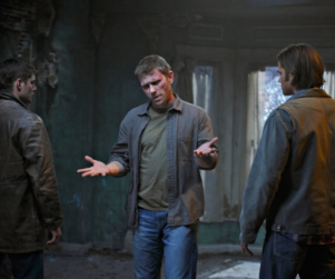 Supernatural Season Finale Photos: Sam, Dean and Lucifer