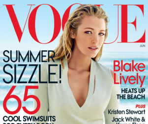 Blake Lively in Vogue: Surfing, Sizzling