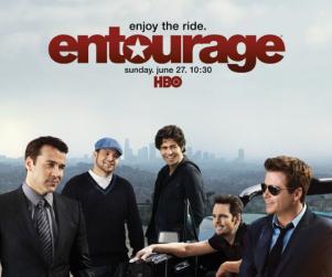 Entourage Season Seven Poster: Zzzzzz!