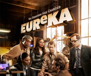Eureka Season Four Poster: Welcome, James Callis!