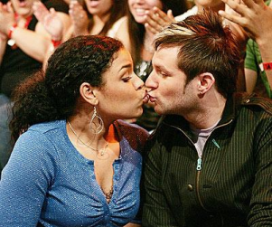 American Idol Picture of the Day: Jordin and Blake Pucker Up