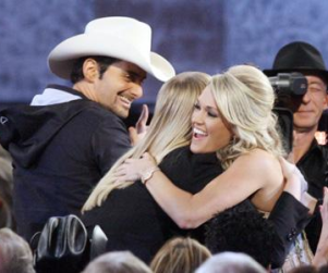 Carrie Underwood Wins Two Country Music Awards