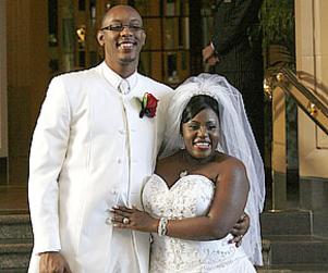 LaKisha Jones and Larry Davis: Married!
