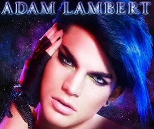 Presenting: The Adam Lambert CD Cover!