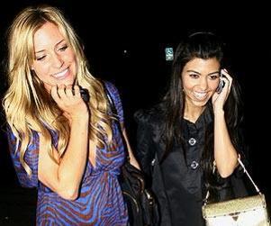 Kristin Cavallari, Kourtney Kardashian Go Klubbing