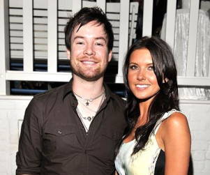 David Cook and Audrina Patridge Attend Party
