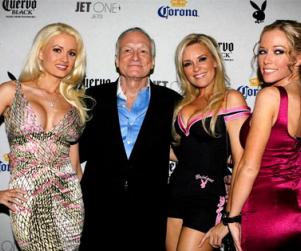 Hugh Hefner Hints at Multiple Girls Next Door Spinoffs