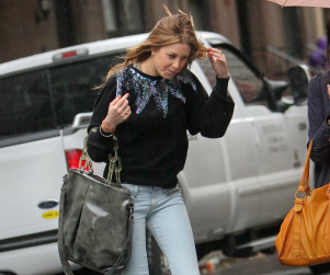 Whitney Port: Windswept in The City