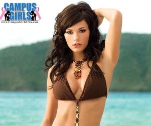 Casey Carlson: Another American Idol Bikini Girl!