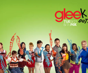 Glee Season Two Poster: Gleek Out... with Slushees!