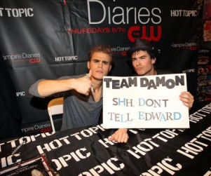Ian Somerhalder and Paul Wesley: On Team Damon!
