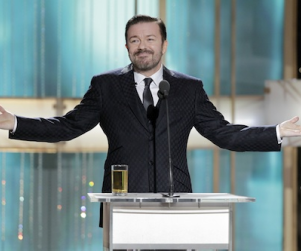 Ricky Gervais to Run It Back as Golden Globes Host