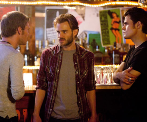 The Vampire Diaries First Look: Careful, David Gallagher!