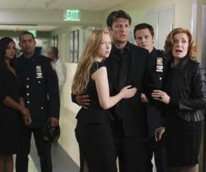 Castle Season Premiere Pics: The Fate of Beckett