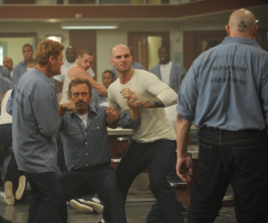 House Season Premiere Pics: Prison Fight!