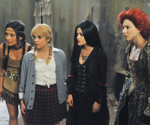 Pretty Little Liars in Costume: Halloween Episode Pics
