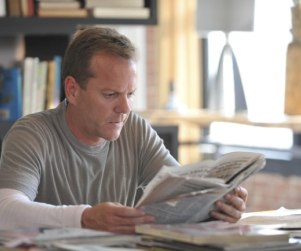 "Kiefer Sutherland Previews Touch as ""Journey"" Between Father and Son"