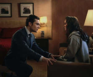"Chuck and Blair to Get ""Pretty Steamy"" on Gossip Girl"