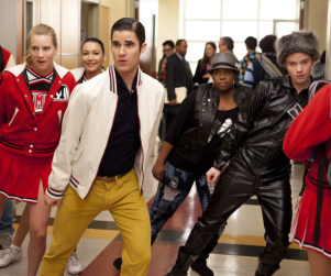 Glee Performance Clip: Darren Criss Crotch Grab Alert!