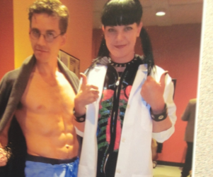Abs & Abs: A Classic NCIS Set Pic