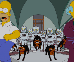 The Simpsons Review: Do Robots Dream of Electric Drills?